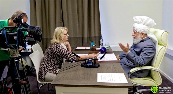 Interview Sveriges TV Calife Suède 2016 (1)